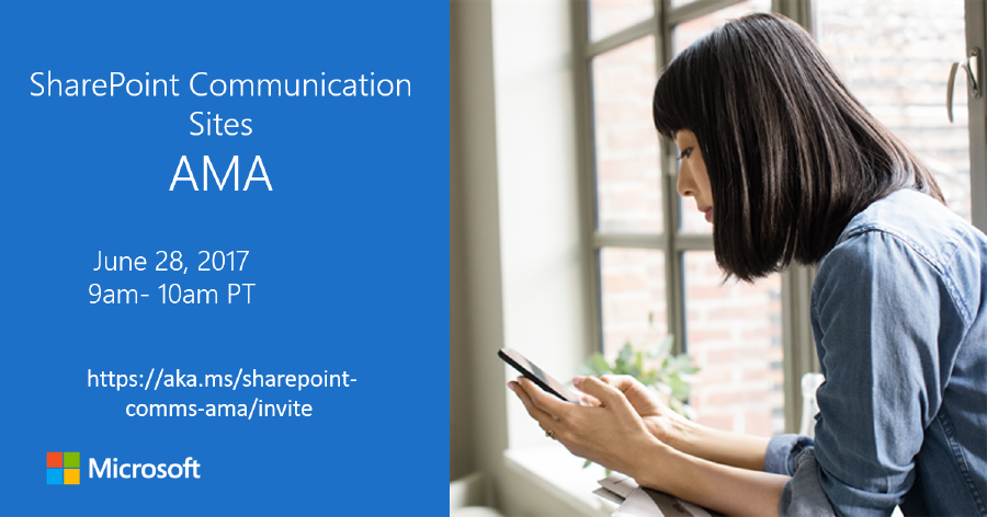 https://aka.ms/sharepoint-comms-ama/invite