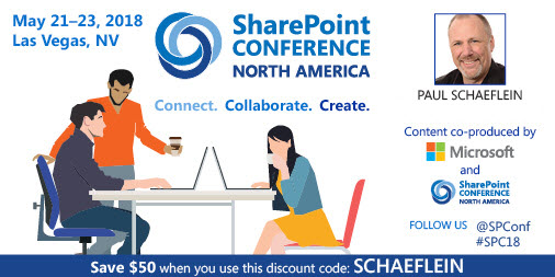 SharePoint Conference NA